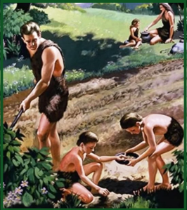 Adam Eve and family